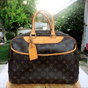 Louis Vuitton deauville monogram handbag satchel